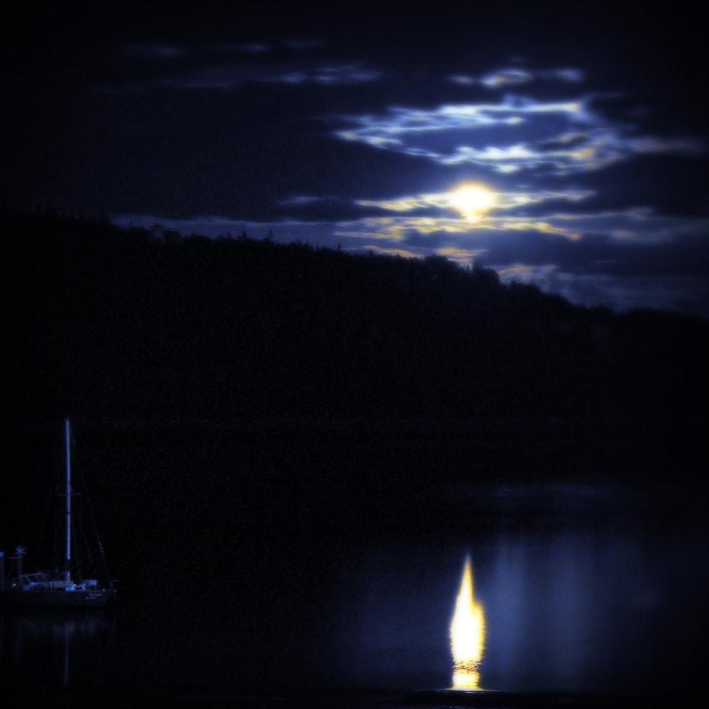 Full Lake Moon