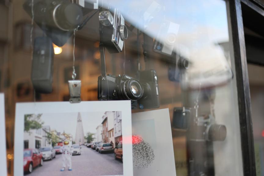 Cameras in Window Unsplash