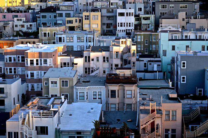 Unsplash San Francisco Roofs
